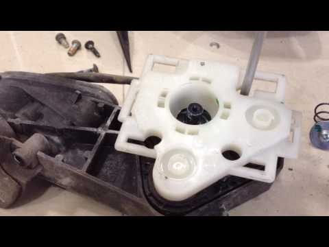 Tear Down Video of Honda City Car Side Mirror