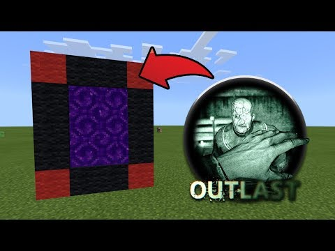 How To Make a Portal to the Outlast Dimension in MCPE (Minecraft PE)