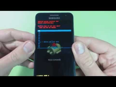 Samsung Galaxy A3 A300F hard reset