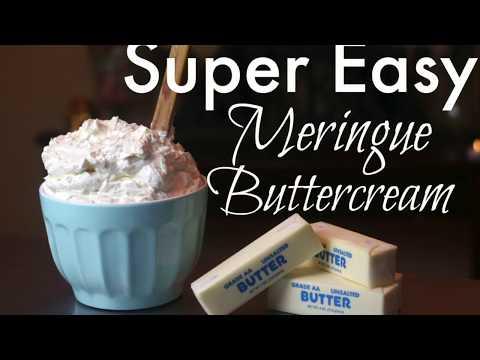 (NO HEAT) EASY MERINGUE BUTTERCREAM TUTORIAL || Janie's Sweets