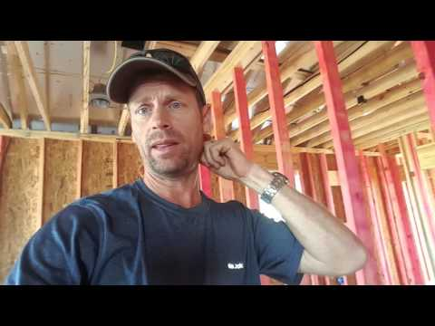 Framing inspection and sheetrock delivery