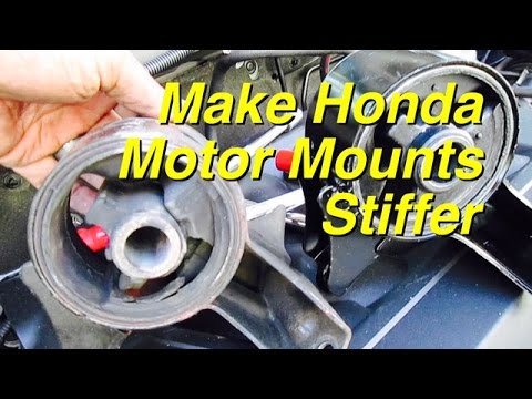 Make Honda Motor Mounts More Stiff - Transmission Mounts - Honda Acura Accord Odyssey Civic Pilot