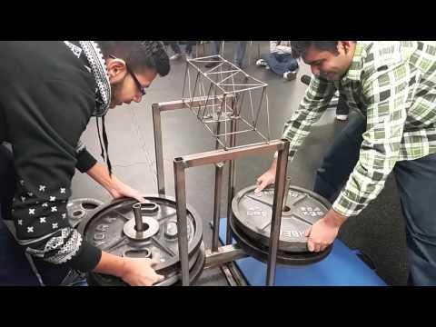 1/8 inch Steel Bridges - weight test