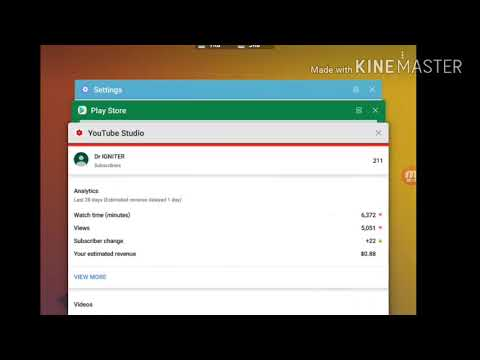Enable Multi windows For All app in Samsung tab s3