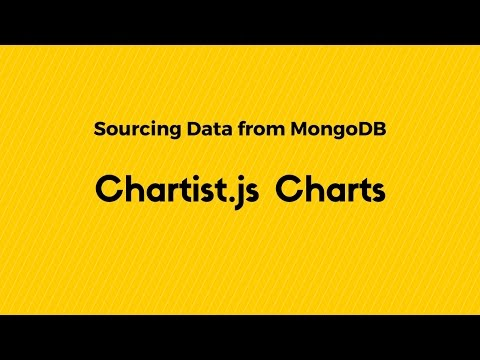 Chartist.js Charts With Data from a MongoDB Using Flask and jQuery