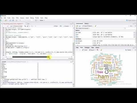 Word Cloud in R - Learn it in 4 minutes !
