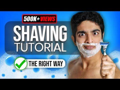 ULTIMATE shaving tutorial | How to shave for beginners | BeerBiceps Men's Grooming