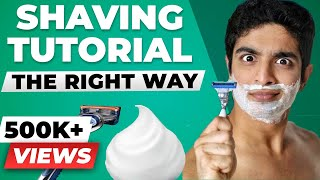 ULTIMATE shaving tutorial | How to shave for beginners | BeerBiceps Men