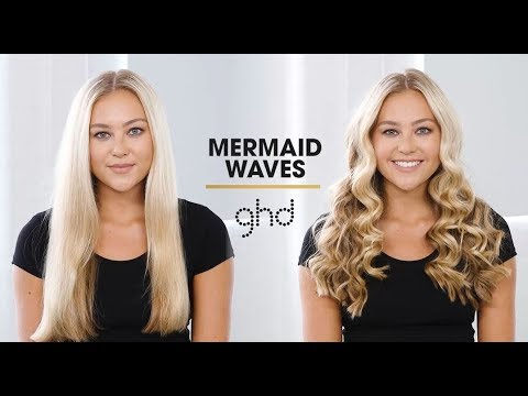 Mermaid Waves   ghd Hairstyle How-To
