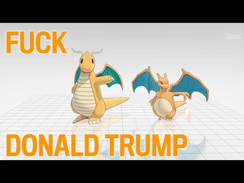 Fuck Donald Trump [5/7]: Dragonite and Charizard Edition