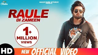 Raule Di Zameen (Official Lyrical Video) NINJA   Pardeep Malak   Mr. V Grooves   Latest song 2018