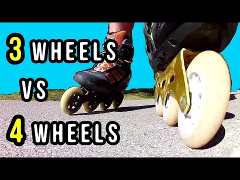TRISKATES vs 4-WHEEL SKATES - Which Are Better?