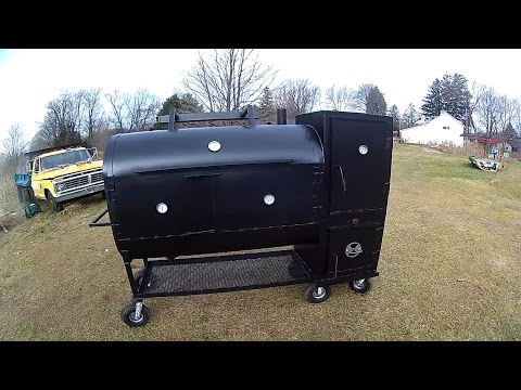 Smoker build out of 275 gallon tank part 9 (The final part)