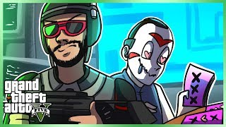 GTA 5 Online Funny Moments - Early Birds Base! (GTA The Doomsday Heists)