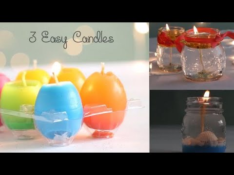 3 Easy Candles