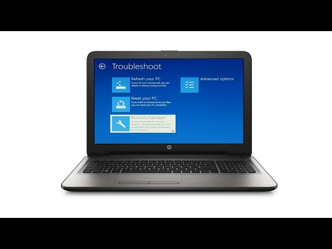 How to Restore Hp Laptop to Factory Defaults