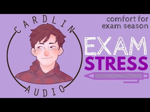 ASMR Roleplay: Exam Stress [Comfort for exam season] [Boyfriend roleplay] [Pampering]