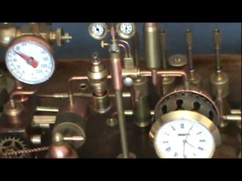 Steampunk Clock 3 by Dmitriy Khristenko