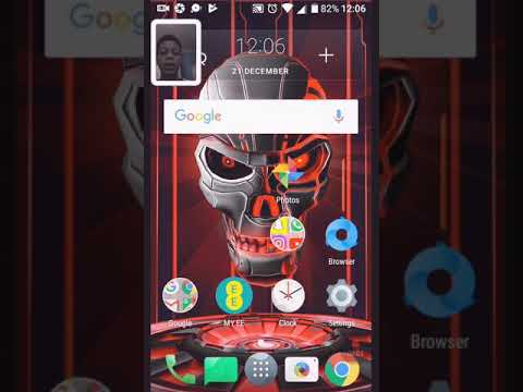 How to get face time and screen recorder on android
