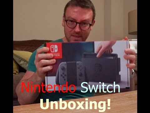 Nintendo Switch - unboxing! Launch day