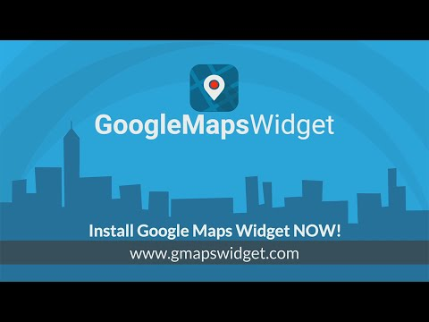 Google Maps Widget plugin for WordPress