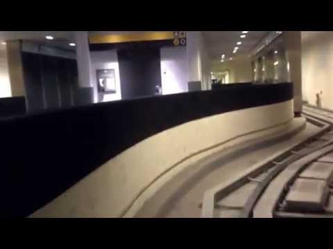 Houston IAH Airport Subway Train: Marriott Hotel to Terminal A