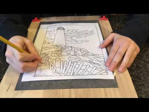 Dremel Wood Carving - Lighthouse