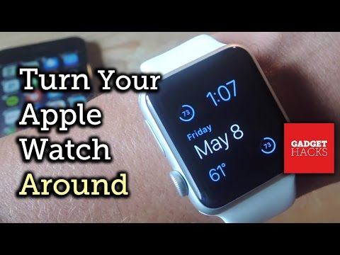 Wear Your Apple Watch with the Digital Crown on the Left Side [How-To]