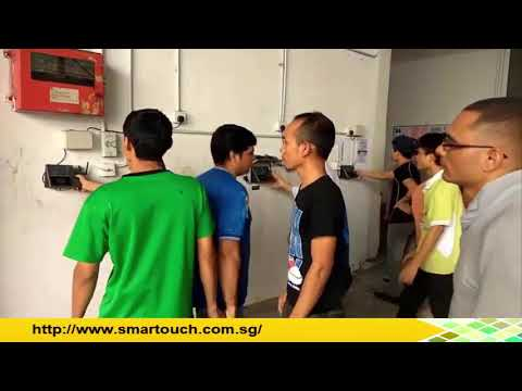 Biometric Fingerprint Device Singapore and Proximity Card Access Control Demo