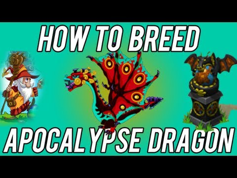 BEST How to Breed Apocalypse Dragon DragonVale! 2nd try