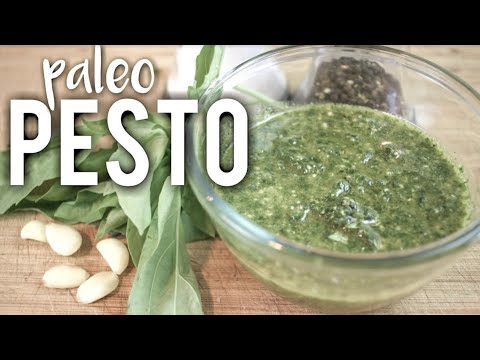 HOW TO MAKE PALEO PESTO SAUCE