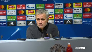 """""""This is nothing new for Man United."""" Mourinho speaks following Champions League exit"""