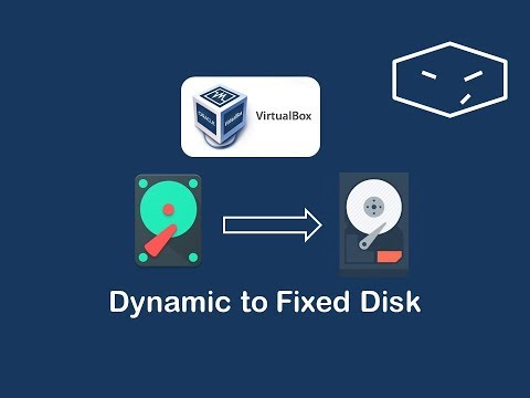 virtualbox convert dynamic disk into fixed disk