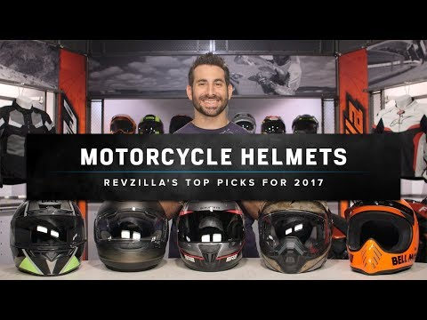 Best Motorcycle Helmets 2017 at RevZilla.com