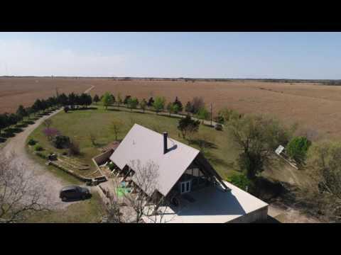SOLD: Scenic Flint Hills Cabin & Lake For Sale, Butler County Kansas