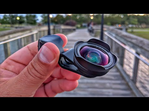 Lente Gran Angular HD de 128 ° - Excelente calidad - No distorcion