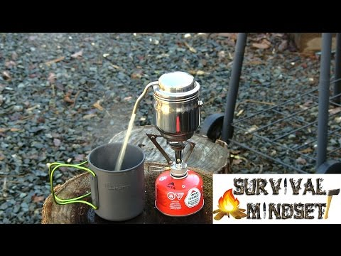 Esbit Coffee Pot In Action Camping Hiking Bushcraft