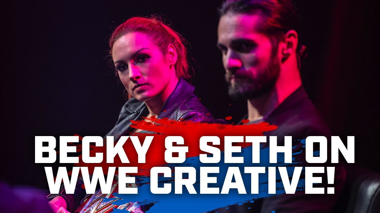 Becky Lynch & Seth Rollins on WWE creative, too much content, freedom with promos & Vince McMahon!