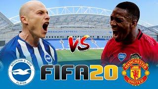 BRIGHTON V MAN UNITED Premier League FIFA 20 Score Prediction
