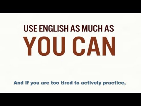 Increase your motivation to learn English
