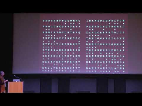 Breaking Codes and Finding Patterns - Susan Holmes