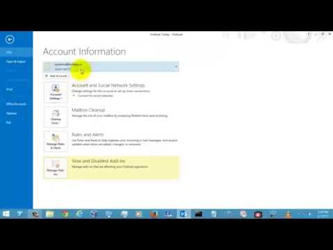 How To Create a PST File for Outlook 2013