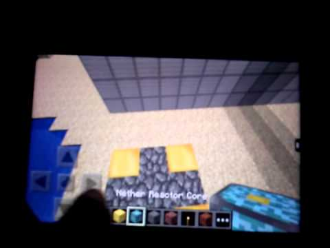 how to build the nether portal in minecraft pe