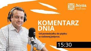 Adrian Klarenbach (03.01.2020) Komentarz Dnia w radiowej Jedynce