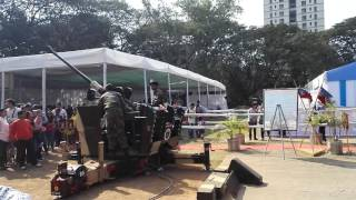 Army equipment at IIT BOMBAY