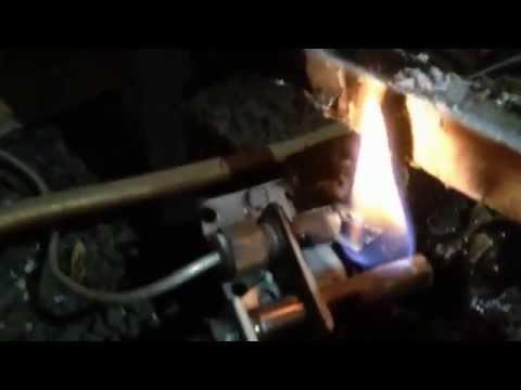 Gas Fireplace Repair - Bad Pilot Light Flame