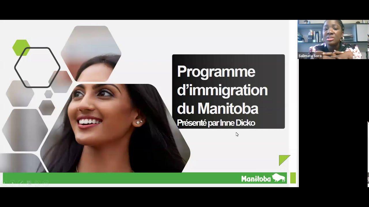Atelier: Comment immigrer au Manitoba