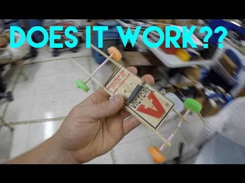 HOW TO MAKE A MOUSETRAP CAR !! DIY LIFE HACK
