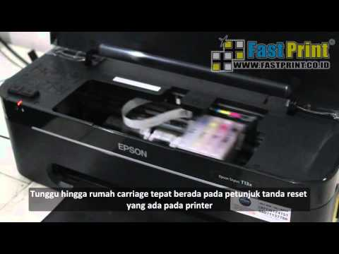 How to reset a separate chip EPSON T13X