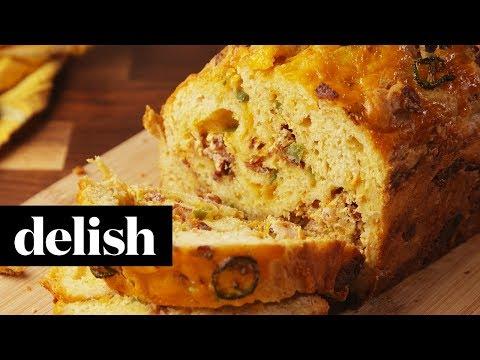 Bacon Cheddar Beer Bread | Delish